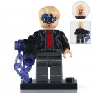 Minifigure Robber With Captain America Mask Spider-man Marvel Super Heroes Building Lego Blocks Toys