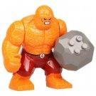 Big Minifigure The Thing Red Pants Fantastic Four Marvel Super Heroes Building Lego Blocks Toys