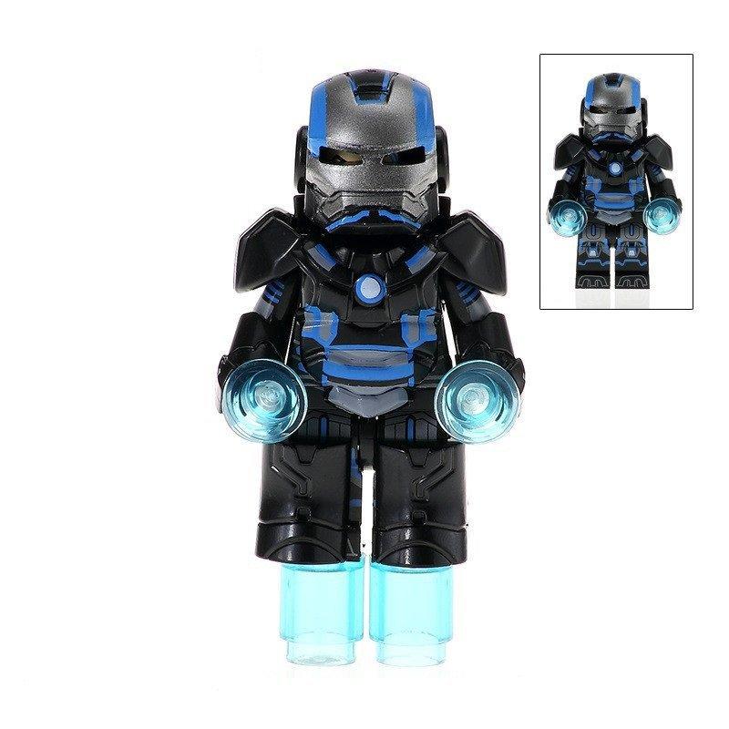 Minifigure Armored Iron Man Marvel Super Heroes Building Lego Blocks Toys