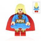 Minifigure Super Girl DC Comics Super Heroes Building Lego Blocks