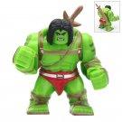Big Minifigure Skaar Son of the Hulk Marvel Super Heroes Building Lego Blocks Toys