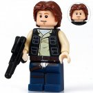 Minifigure Han Solo Young Star Wars Building Lego Blocks Toys
