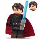 Minifigure Anakin Skywalker Sith Star Wars Building Lego Blocks Toys
