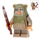 Minifigure Wuta Ewok Archer Star Wars Building Lego Blocks Toys