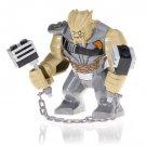 Big Minifigure Cull Obsidian Avengers Infinity War Marvel Super Heroes Building Lego Blocks Toys