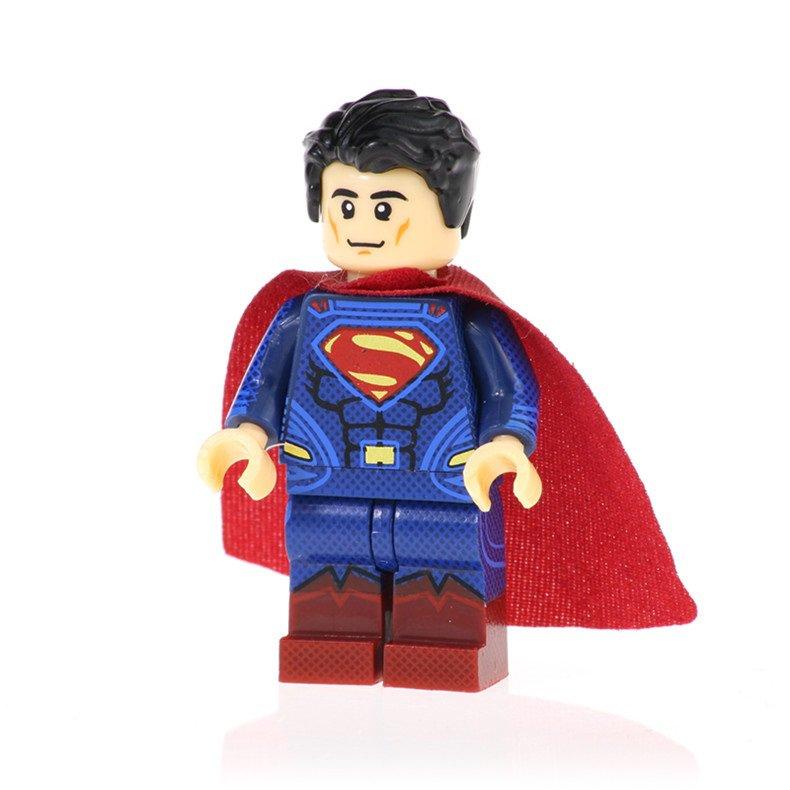 Minifigure Superman DC Comics Super Heroes Building Lego Blocks Toys