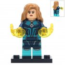 Minifigure Captain Marvel Avengers Marvel Super Heroes Building Lego Blocks Toys