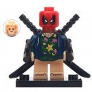 Minifigure Deadpool Reborn Marvel Super Heroes Building Lego Blocks Toys