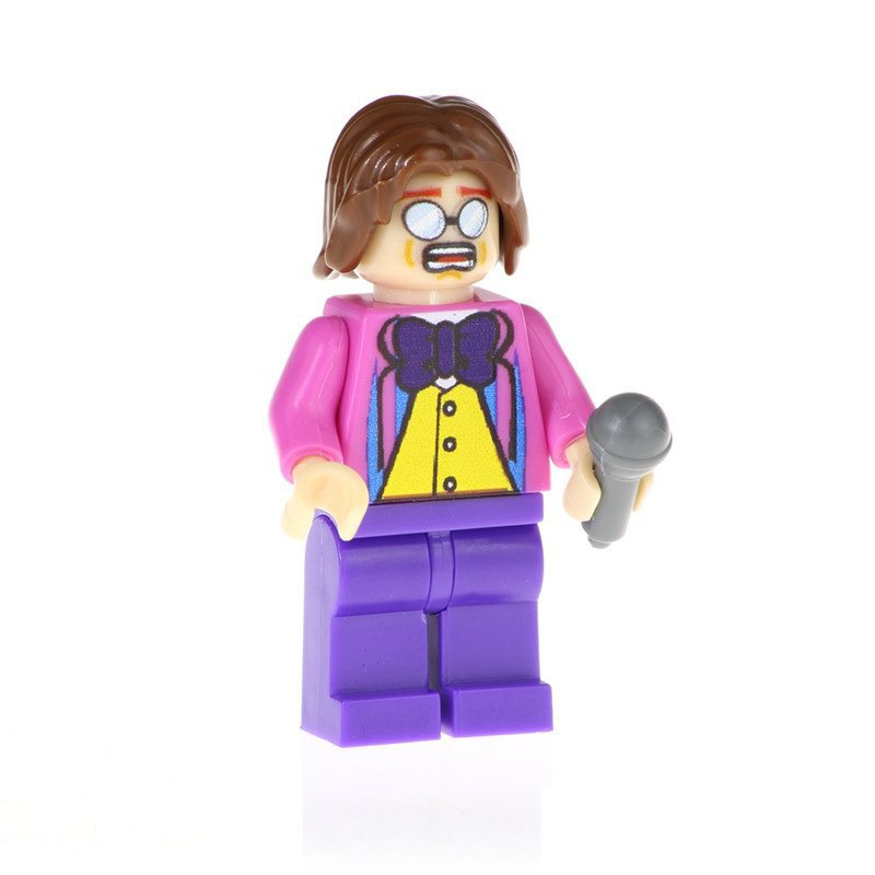Minifigure Elton John Building Lego Blocks Toys