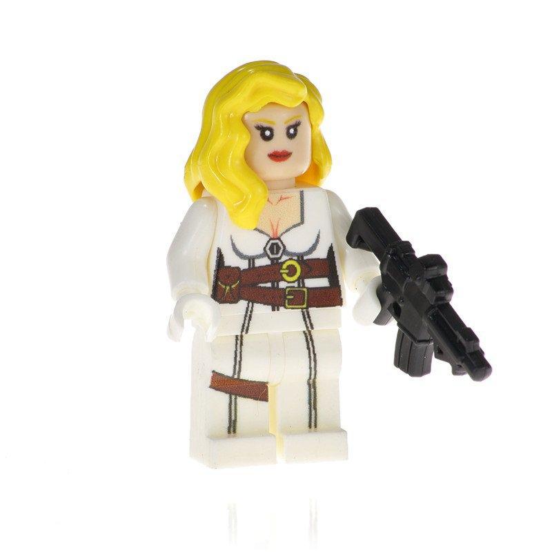 Minifigure Agent 13 Sharon Carter S.H.I.E.L.D. Marvel Super Heroes Building Lego Blocks Toys