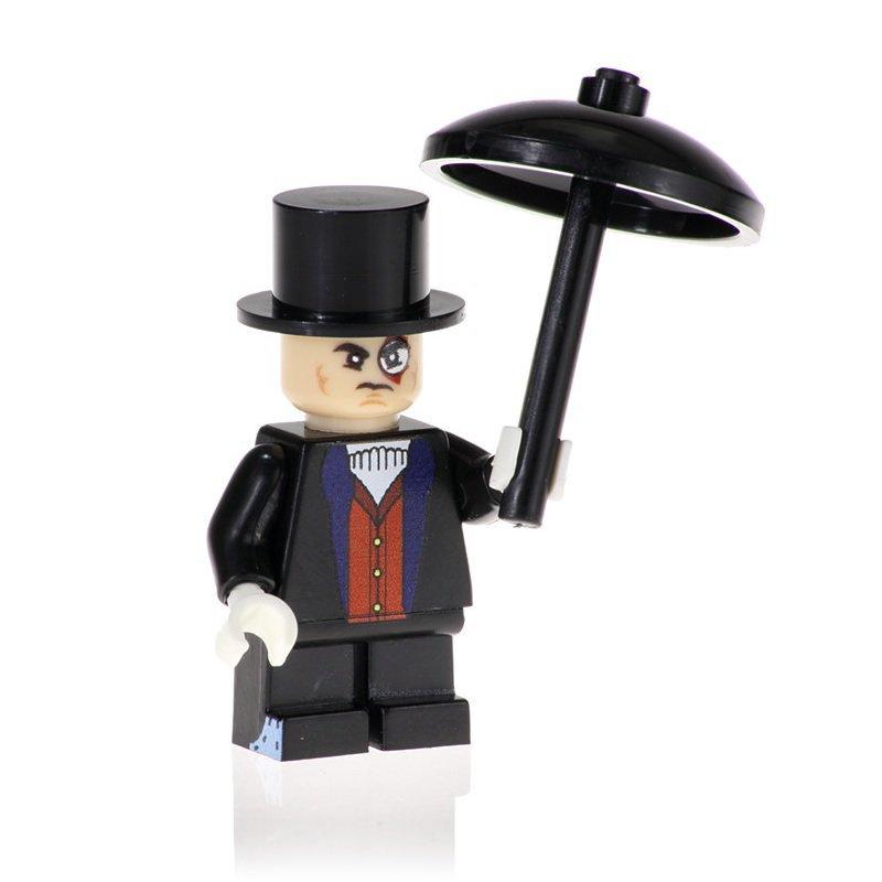 Minifigure Penguin from Batman Movie DC Comics Super Heroes Building Lego Blocks Toys