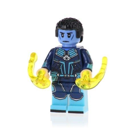 Minifigure Att-Lass from Captain Marvel Movie Marvel Super Heroes Building Lego Blocks Toys