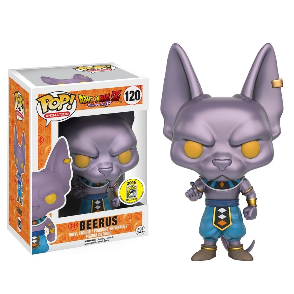 Funko POP! Beerus #120 Dragon Ball Z Vinyl Action Figure Toys