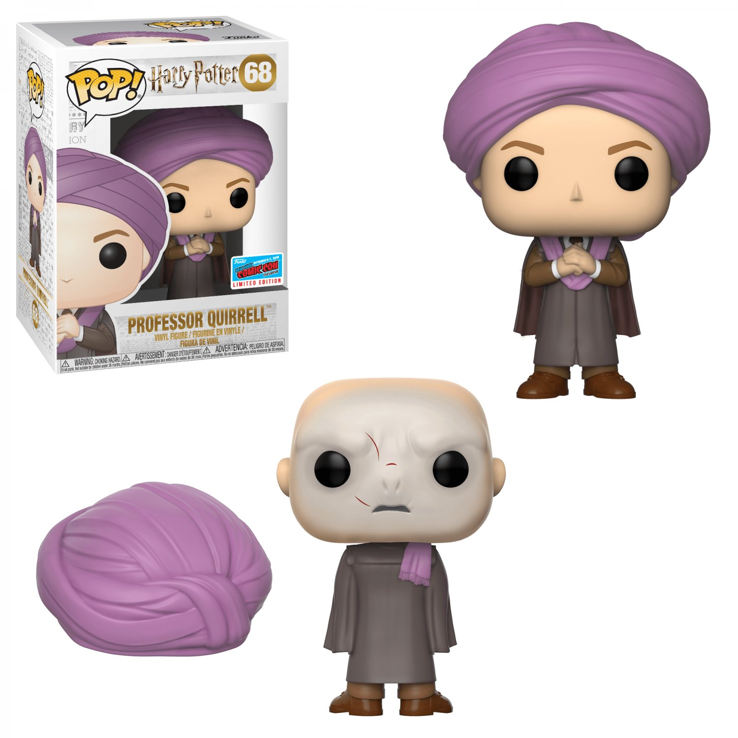 Funko POP! Professor Quirrell #68 Harry Potter Vinyl Action Figure Toys