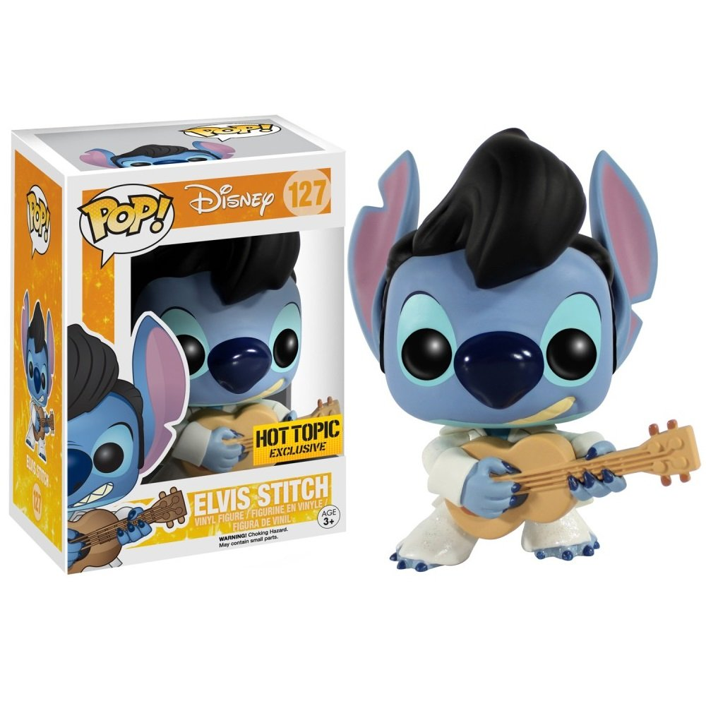 Funko POP! Stitch (as Elvis) #127 Lilo and Stitch Disney Vinyl Action Figure Toys