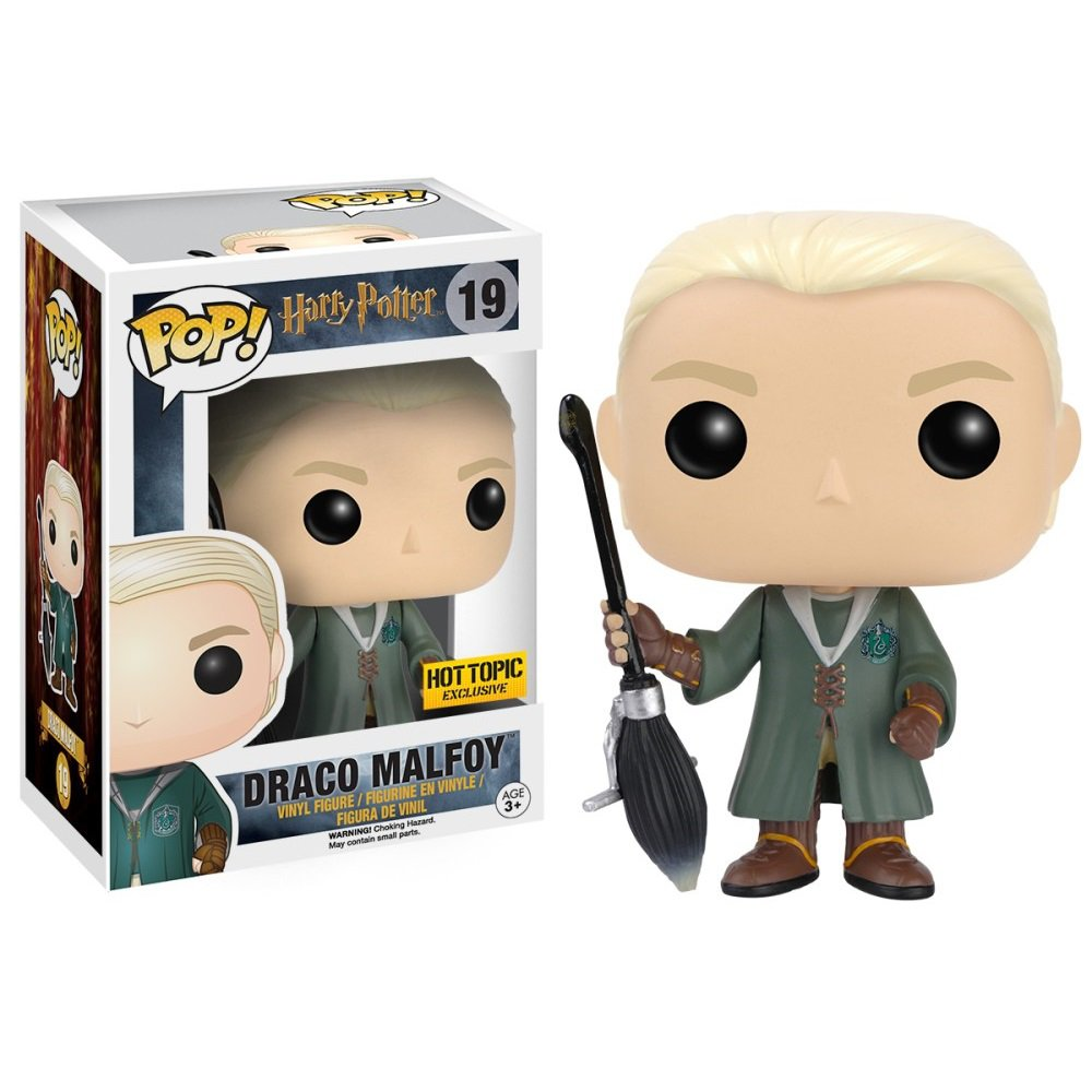 Funko POP! Draco Malfoy (Quidditch Robes) #19 Harry Potter Vinyl Action Figure Toys