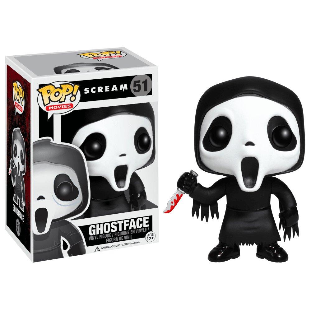 Funko POP! Ghost Face #51 Scream Horror Movie Vinyl Action Figure Toys