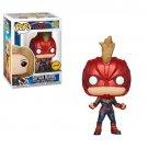 Funko POP! Captain Marvel (Masked) #425 Marvel Super Heroes Vinyl Action Figure Toys