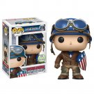 Funko POP! Captain America (World War II) #219 Avengers Marvel Super Heroes Vinyl Action Figure Toys
