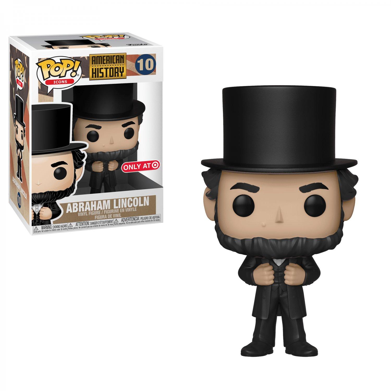 Funko POP! Abraham Lincoln #10 American History Vinyl Action Figure Toys