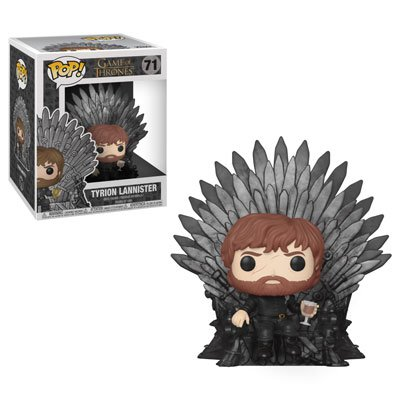 Funko POP! Tyrion Lannister (Iron Throne) #71 Game of Thrones Vinyl Action Figure Toys