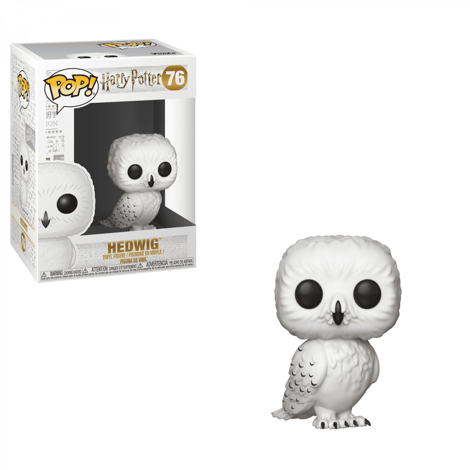 Funko POP! Hedwig Owl #76 Harry Potter Vinyl Action Figure Toys