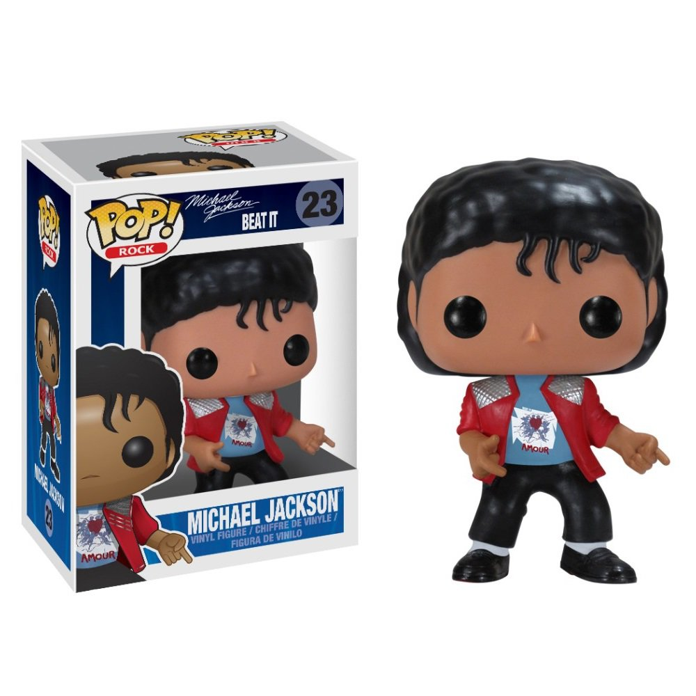Funko POP! Michael Jackson (Beat It) #23 Music Star Celebrity Vinyl Action Figure Toys