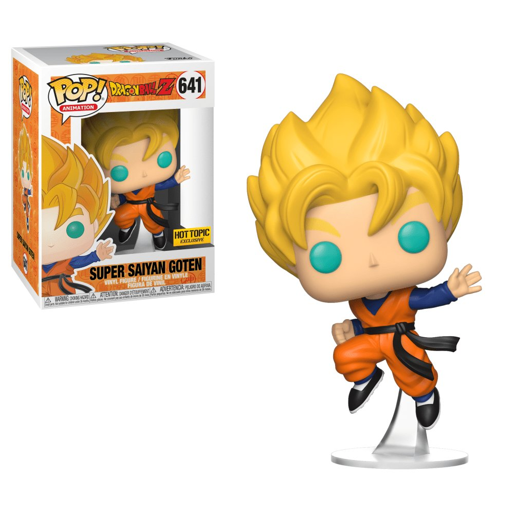 Funko POP! Super Saiyan Goten #641 Dragon Ball Z Vinyl Action Figure Toys