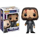 Funko POP! John Wick (Bloody) #387 Keanu Reeves Film Vinyl Action Figure Toys