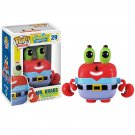 Funko POP! Mr. Krabs #29 SpongeBob SquarePants Movie Nickelodeon Vinyl Action Figure Toys