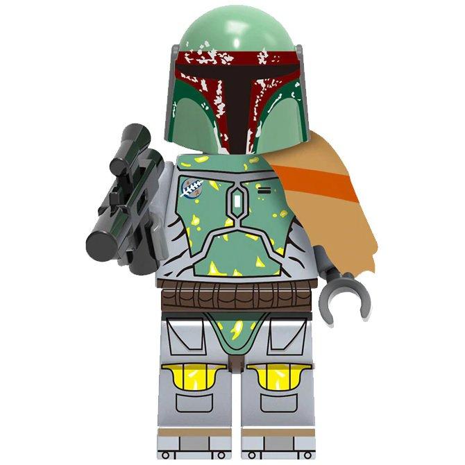 Minifigure Boba Fett Star Wars Building Lego Blocks Toys