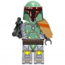 Minifigure Boba Fett Star Wars Building Lego Blocks Toys