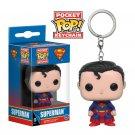 Superman Funko POP! DC Comics Super Heroes Keychain Vinyl Action Figure Toys