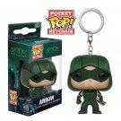 Green Arrow Funko POP! DC Comics Super Heroes Keychain Vinyl Action Figure Toys