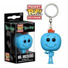 Mr. Meeseeks Funko POP! Rick and Morty Keychain Vinyl Action Figure Toys