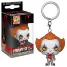 Pennywise with Balloon Funko POP! IT Horror Movie Film Keychain Vinyl Action Figure Toys