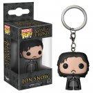 Jon Snow Funko POP! Game of Thrones Keychain Vinyl Action Figure Toys