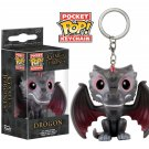 Drogon Funko POP! Game of Thrones Keychain Vinyl Action Figure Toys