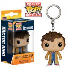 10th Doctor (Ten) Funko POP! Doctor Who BBC Keychain Vinyl Action Figure Toys