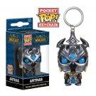 Arthas Funko POP! World of Warcraft Game Keychain Vinyl Action Figure Toys