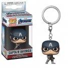 Captain America Quantum Funko POP! EndGame Avengers Marvel Super Heroes Keychain Vinyl Action Figure
