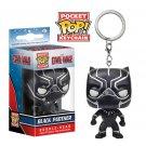 Black Panther Funko POP! Avengers Marvel Comics Super Heroes Keychain Vinyl Action Figure Toys