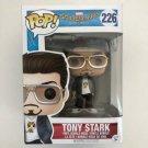 Tony Stark Funko POP! #226 Marvel Super Heroes Spider-Man HomeComing Vinyl Figure Toys