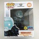 """Reinhardt 6"""" Inch Funko POP! #400 Glows In The Dark Overwatch NYCC 2018 Comic Con Vinyl Figure Toys"""