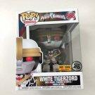 "White Tigerzord 6"" inch Funko POP! #668 Power Rangers Hot Topic Exclusive Vinyl Figure Toys"