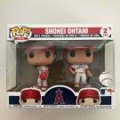 Shohei Ohtani Funko POP! #2-pack MLB LA Angels Vinyl Figure Toys