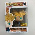 Super Saiyan Future Trunks Funko POP! #318 Dragon Ball Z Hot topic Exclusive Vinyl Figure Toys
