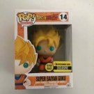 Super Saiyan Goku Funko POP! #14 Dragon Ball Z Glows In The Dark Exclusive Vinyl Figure Toys