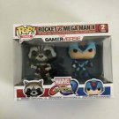 Rocket vs Mega Max X (Blue) Funko POP! #2-pack Marvel vs CAPCOM GamerVerse Vinyl Figure Toys