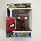 Iron Spider Funko POP! #287 Spider-Man Marvel Super Heroes Avengers Infinity War Vinyl Figure Toys
